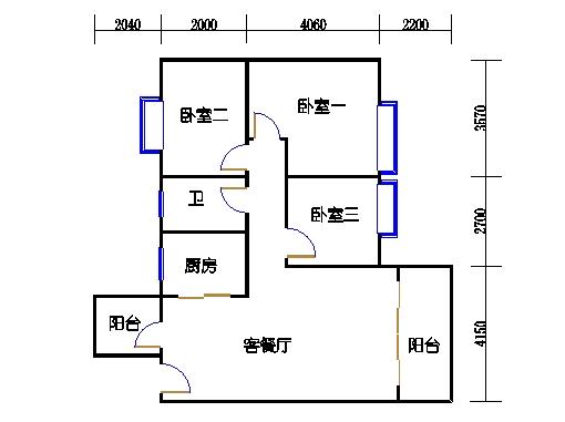 7号楼三层2号02单元
