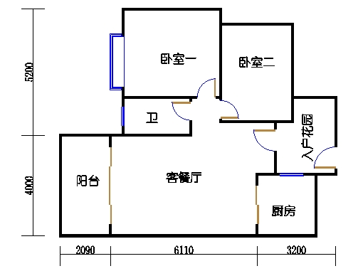 7号楼三层8号03单元