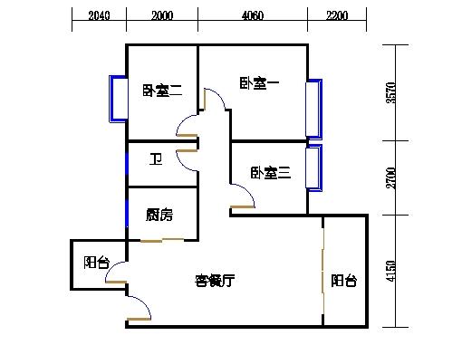 7号楼4-9层1号02单元