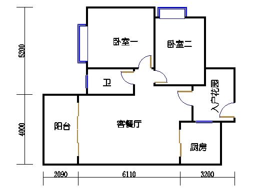7号楼4-9层1号03单元