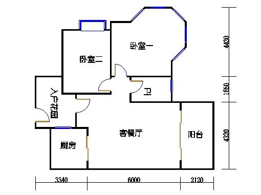 7号楼4-9层1号04单元