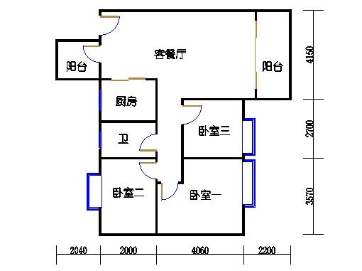 7号楼4-9层2号01单元