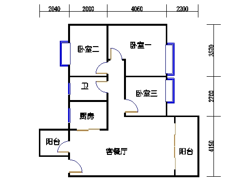 7号楼4-9层2号02单元