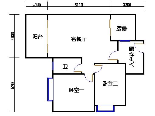 7号楼4-9层2号04单元