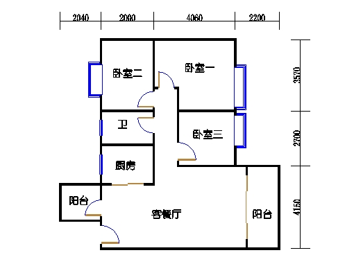 7号楼4-9层3号02单元