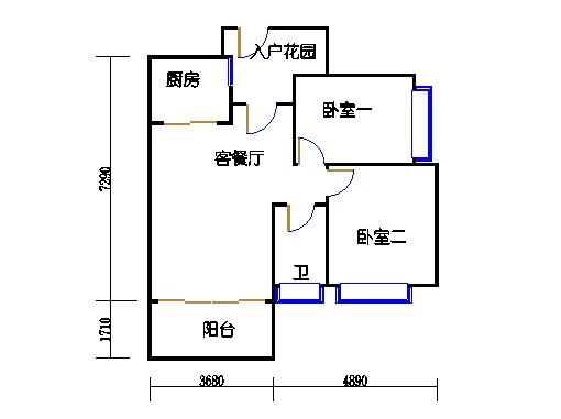7号楼10层2号04单元
