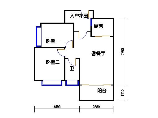 7号楼10层3号03单元