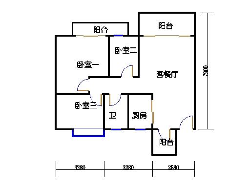 7号楼11层1号01单元