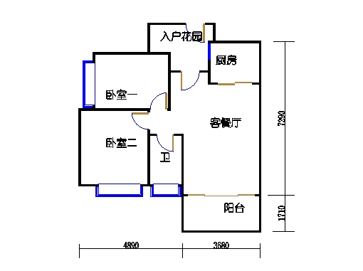 7号楼11层1号03单元