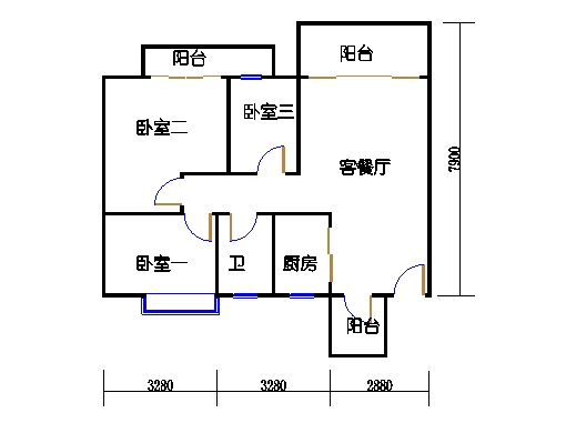 7号楼11层2号02单元