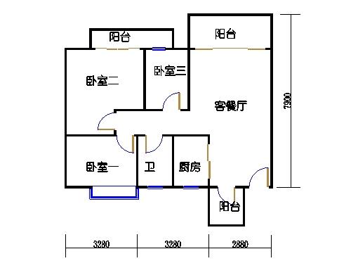 7号楼11层8号02单元