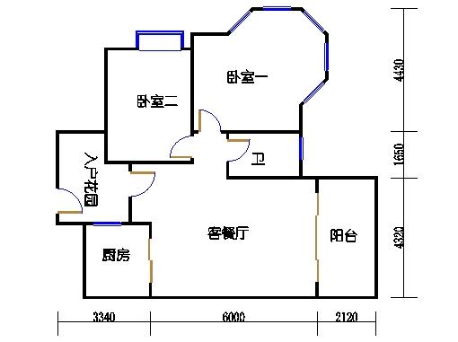 7号楼1层1号04单元