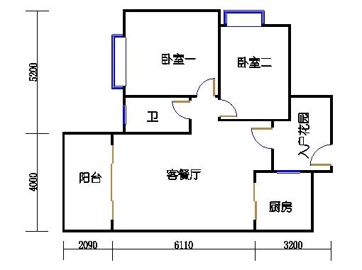 7号楼1层6号03单元