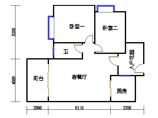7号楼2层2号03单元