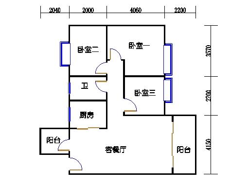 7号楼2层3号02单元