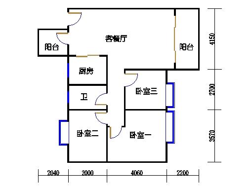 7号楼2层6号01单元
