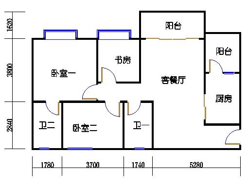 1号楼3层2号02单元