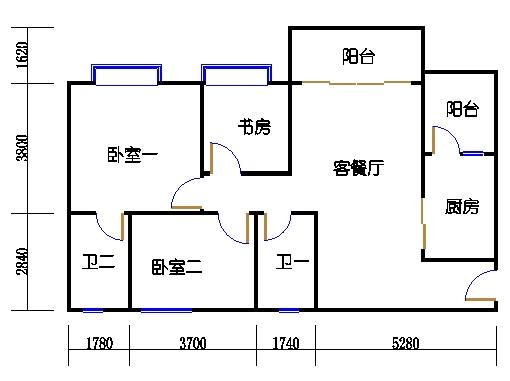1号楼3层3号02单元