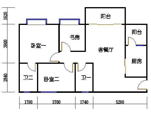 1号楼3层6号02单元