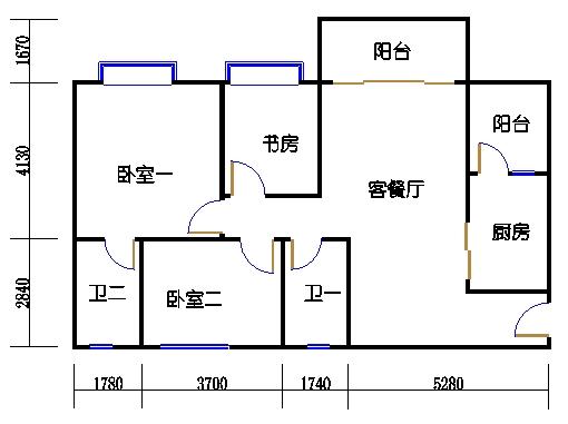 1号楼3层8号02单元
