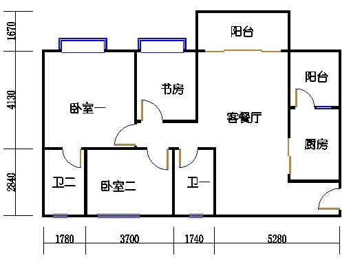 1号楼4层2号02单元