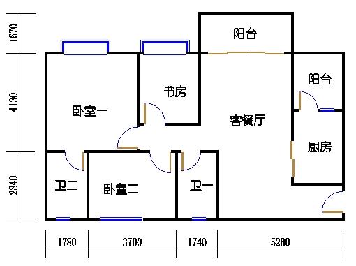 1号楼4层3号02单元