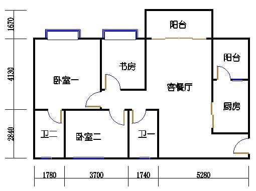 1号楼5层1号02单元