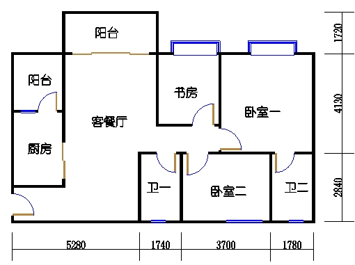 1号楼5层2号01单元