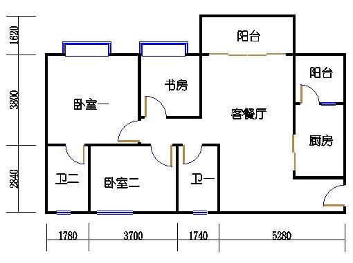 1号楼5层6号02单元