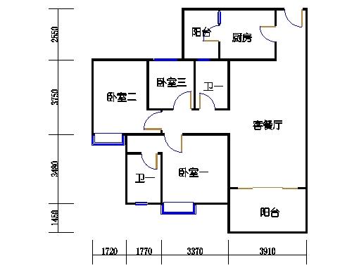 1号楼5层6号03单元