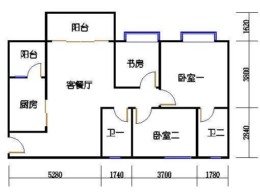 1号楼5层8号01单元