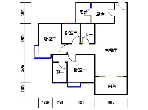 1号楼5层8号03单元