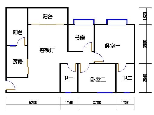 1号楼1层2号01单元