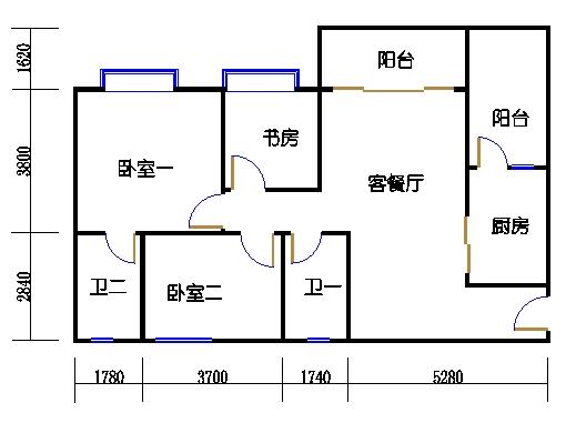 1号楼1层3号02单元