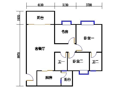 2号楼6层9号01单元