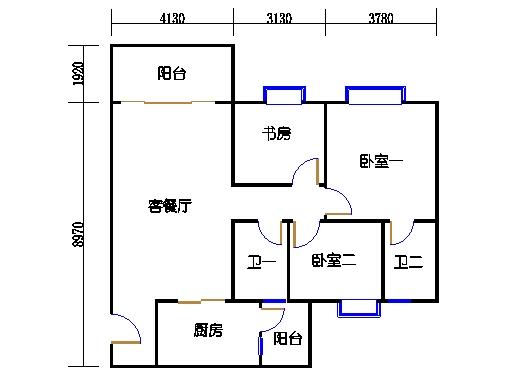 2号楼6层16号01单元