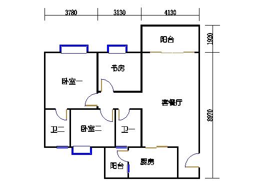2号楼6层16号02单元