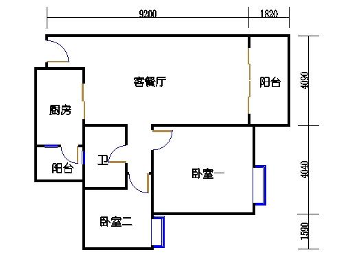 2号楼6层16号03单元