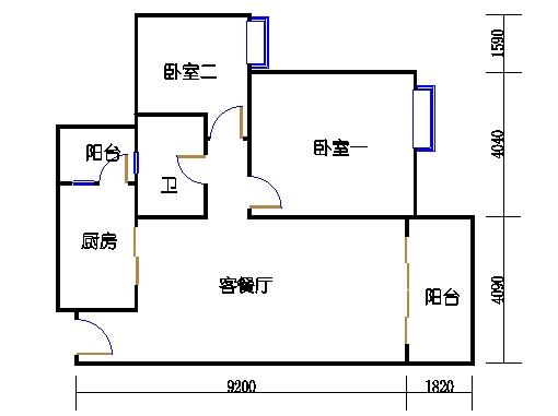 2号楼6层16号04单元
