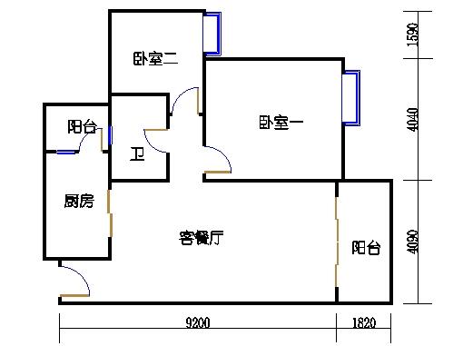 2号楼6层18号04单元