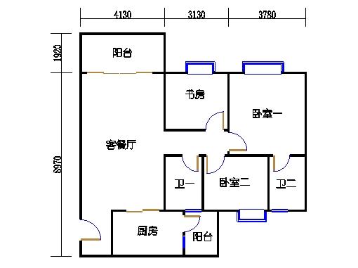 2号楼3.4层9号01单元