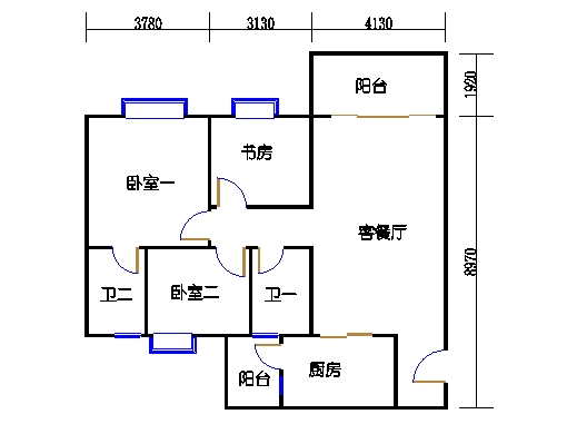 2号楼3.4层9号02单元