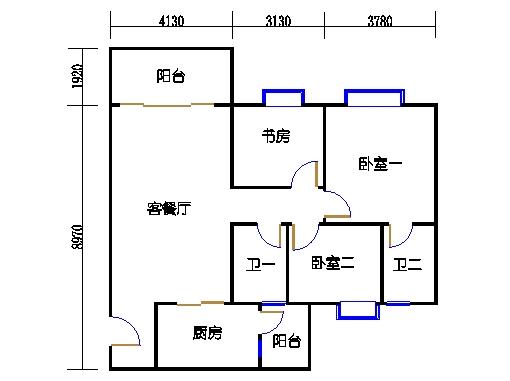 2号楼3.4层10号01单元