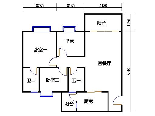 2号楼3.4层11号02单元