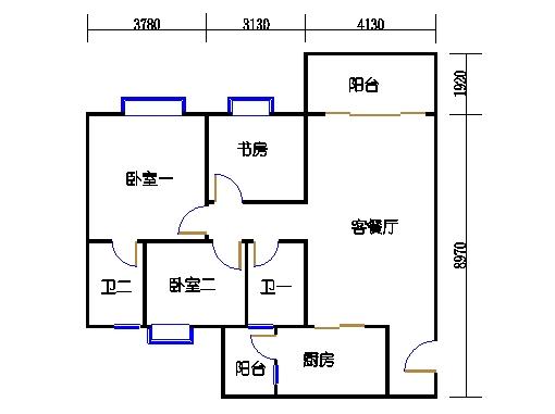2号楼3.4层16号02单元
