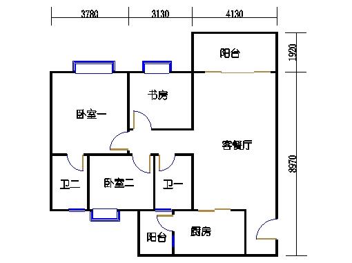 2号楼3.4层18号02单元