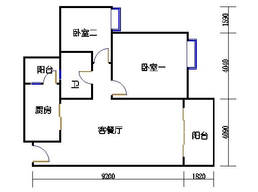 2号楼5层18号04单元