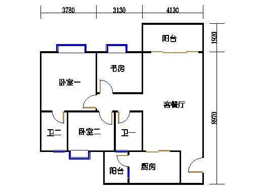 2号楼1层10号02单元