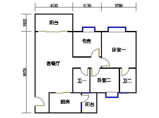2号楼1层11号01单元