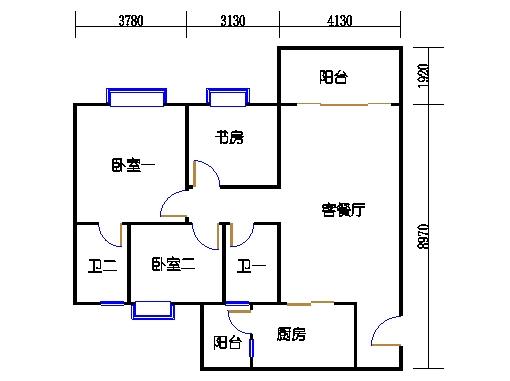 2号楼1层12号02单元